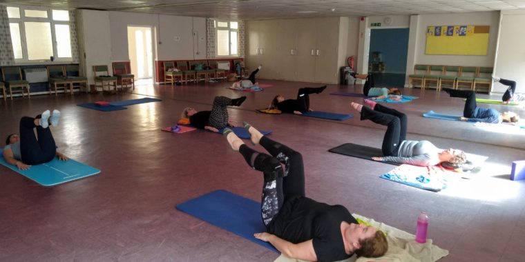 Large venue for Pilates Classes in Woking